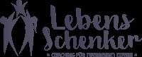 Lebensschenker Logo in Schwarz